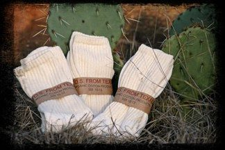 Organic Cotton Crew Sox