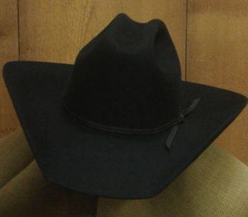 Cowboy Hat All Around Black