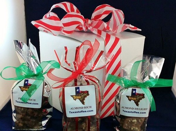Four Flavors of Toffee whitegift
