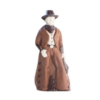 Large Gourmet Chocolate Cowboy
