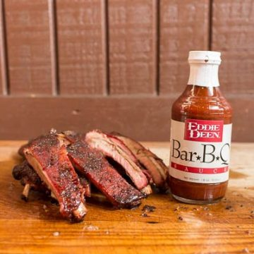 Eddie Deen BBQ Rack of Pork Ribs