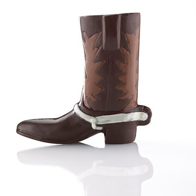 Triple Chocolate Cowboy Boot