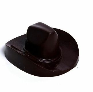 Texas Chocolate Cowboy Hat
