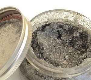 Activated Charcoal Salt Scrub