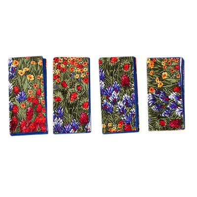 Texas Wildflower Placemats with Napkins