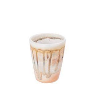 Rustic Drippy Ceramic Shot Glass