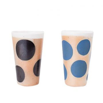 Pair of Polk-a-Dot Tumblers