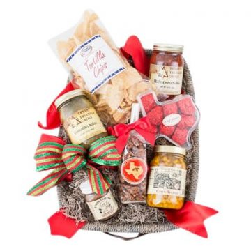 Premium Hot and Spicy Texan Holiday Gift Basket