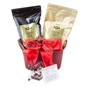 Hot and Cold Holiday Gift Basket