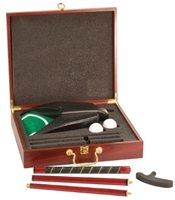 Executive Rosewood Golf Set