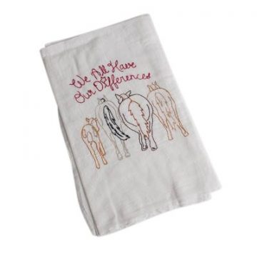 We All Have Our Differences Tea Towels