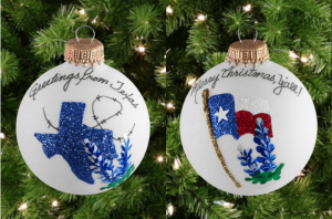 Texas Made Ornaments