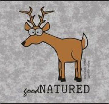 Good Natured Deer Cotton T-Shirt