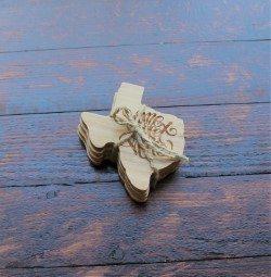 Texas Shaped Coasters