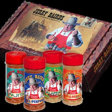 Jerry Baird's 4 Seasonings Gift Box