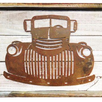 Merveilleux Old Truck Rustic Metal Wall Art