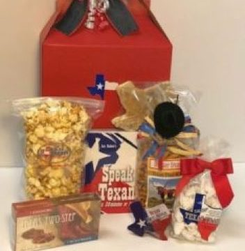 A great Texas gift selection for a welcome amenity, conference gift, or any other reason to show your Texas pride.