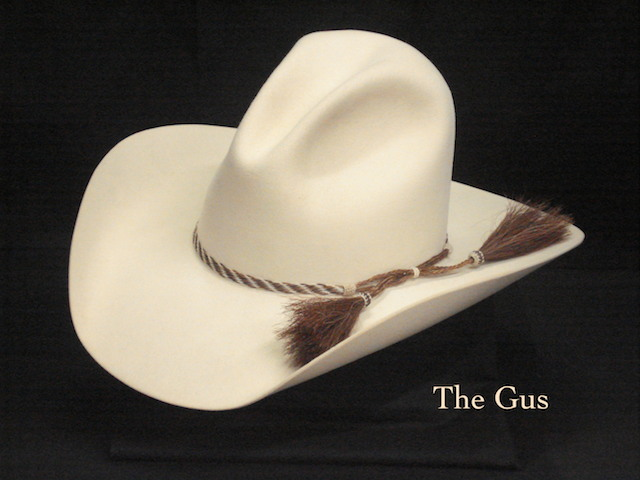 Cowboy Hat Custom-made Gus Style  55215f548b1